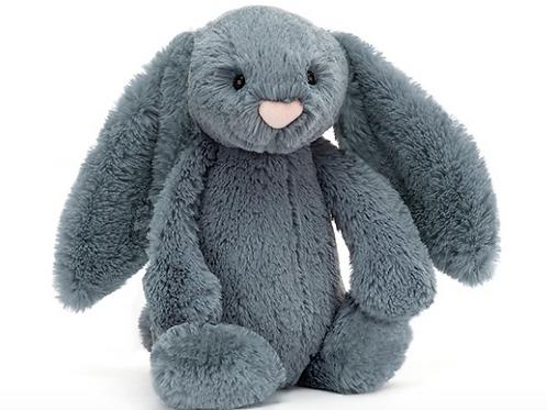 Jellycat Bashful Dusky Blue Bunny Medium - 31x12cm