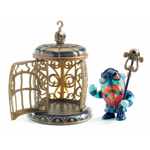 Gnomus & Ze cage Pirate Arty toys