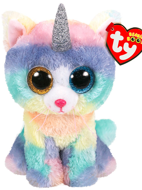BEANIE BOO'S SMALL - HEATHER LE CHAT LICORNE