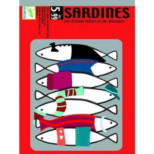 Sardines Jeu de mémoire Djeco