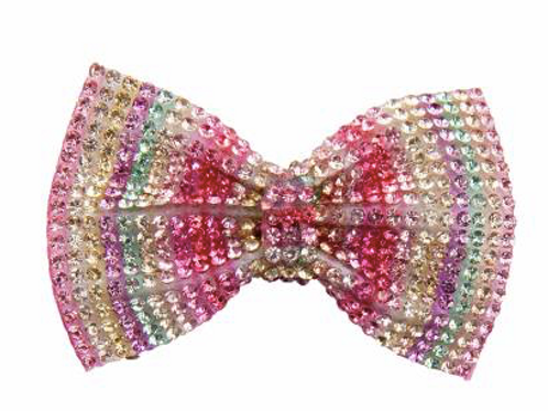 BARRETTE GEM BOW