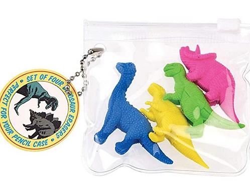 Gommes Dinosaures (set De 4)