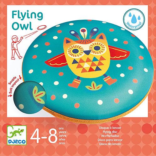 Disque à lancer Flying Owl - Djeco
