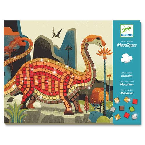 Mosaîque dinosaure
