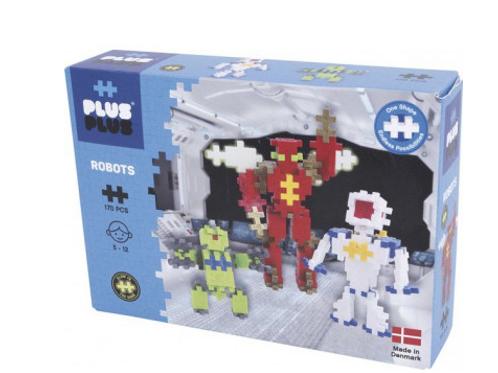 Plus Plus robots Box mini basic 170 pièces - jeu de construction
