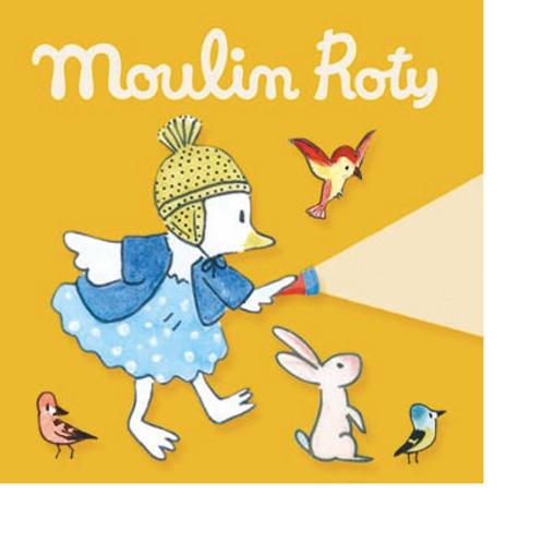 Boîte de 3 disques pour lampe à histoires La Grande Famille Moulin Roty