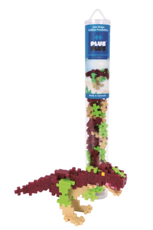 Plus Plus - Tube Mini de 100 pièces - Dino