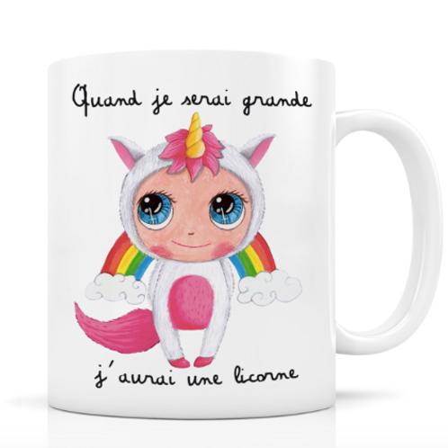 """Mug """"Licorne"""""""
