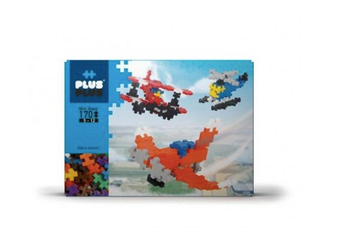 Plus Plus aviation Box mini basic 170 pièces - jeu de construction
