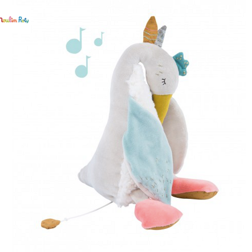 Peluche musicale oie Le Voyage d'Olga Moulin Roty