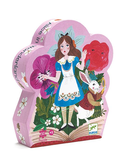 Puzzle 50 pièces Alice au pays des merveilles