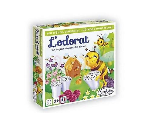 Jeu sensoriel Montessori : L'odorat