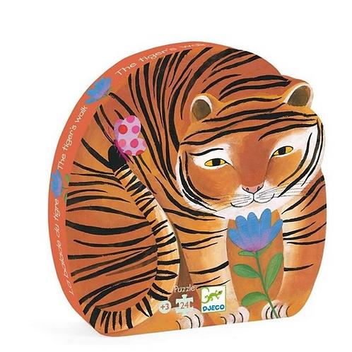 Puzzle tigre- 24 pcs
