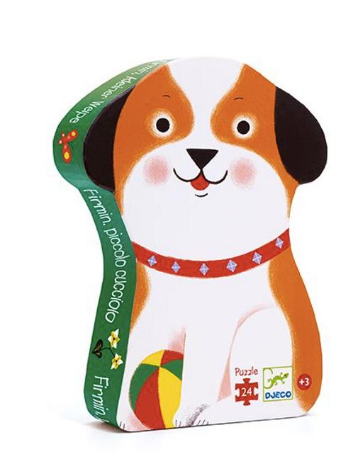 Puzzle - Firmin petit chien - 24 pcs