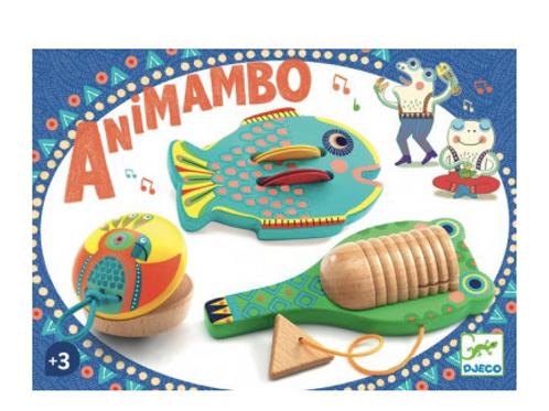Set de 3 percussions Animambo