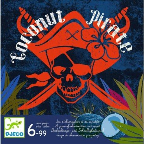 Coconut pirate Djeco