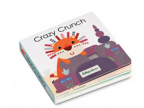 Crazy Crunch livre tactile et sonore - Lilliputiens