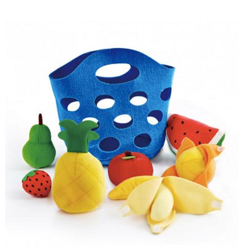 Panier de fruits à éplucher