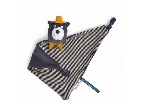Doudou chat Alphonse Les Moustaches - Moulin Roty