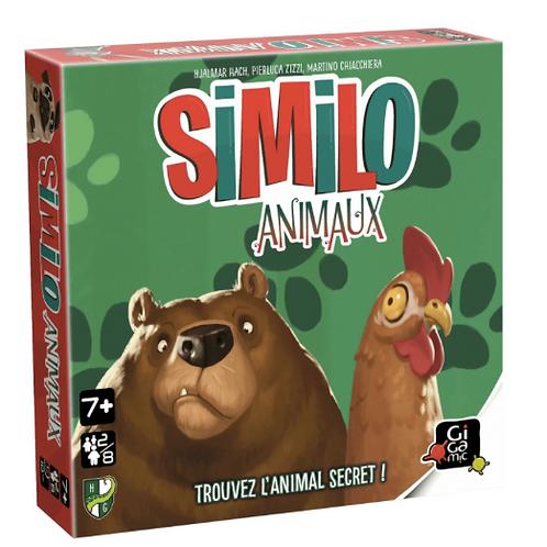 Similo animaux - jeu Gigamic