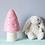 Thumbnail: Lampe Champignon petit modèle rose LED