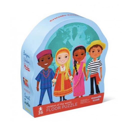 Puzzle - Les enfants du monde - 36 pcs