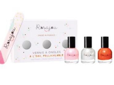 "Etui 3 vernis et lime ""Folie"" / ""Ballerine"" / ""Perle"""