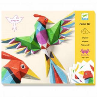 Djeco Poster 3D Amazonie