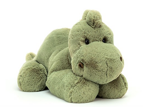 Jellycat Huggady petit Dino - 22x12cm