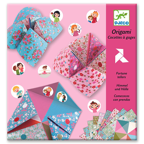 ORIGAMI COCOTTE A GAGES FLEURS