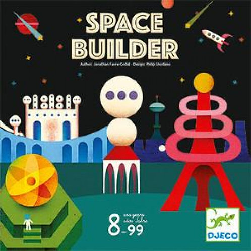 Space builder - jeu Djeco