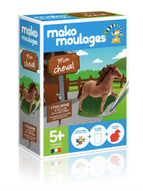 MON CHEVAL Mako moulages