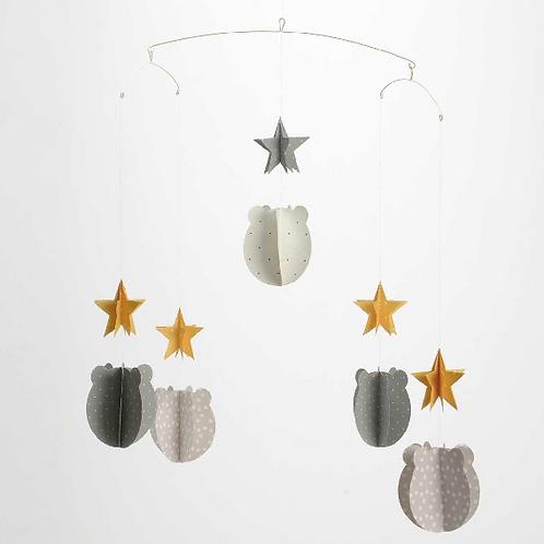 Mobile décoratif étoiles et oursons