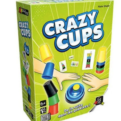 Jeu d'ambiance Crazy cups