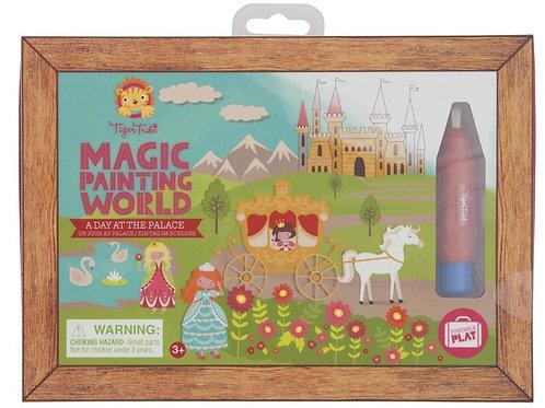 Magic painting une journée au palais