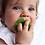 Thumbnail: Mini jouet de dentition en latex Eli le trèfle Chewy to go Oli &