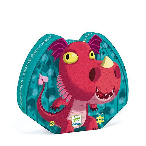 Puzzle 24 pièces Edmond le dragon