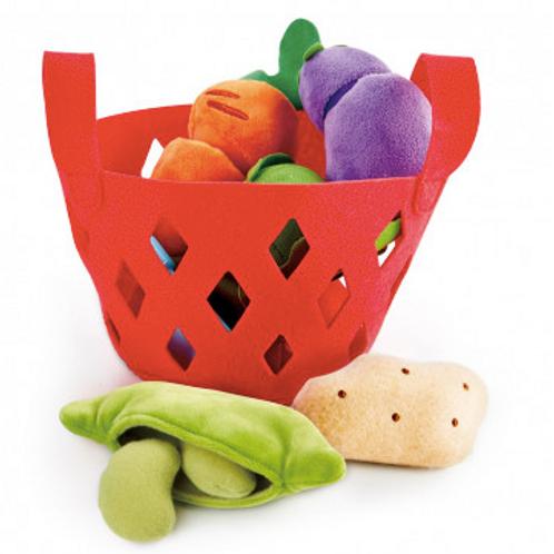 Panier de légumes à éplucher et à couper