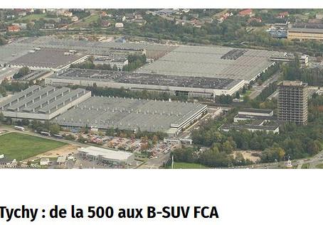N°123 Le B-SUV Alfa Romeo fabriqué en Pologne, FCA investit 166 millions d'euros à Tychy