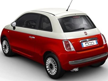 N°196 Fiat 500, série Bi-Color (2011)