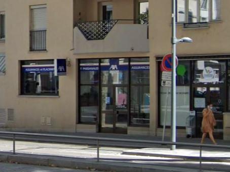 N° 170-Bornes Cours Charlemagne Lyon  2eme