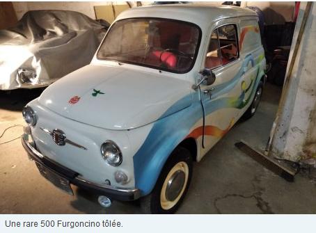 N°227 Ventes aux enchères de Fiat 500