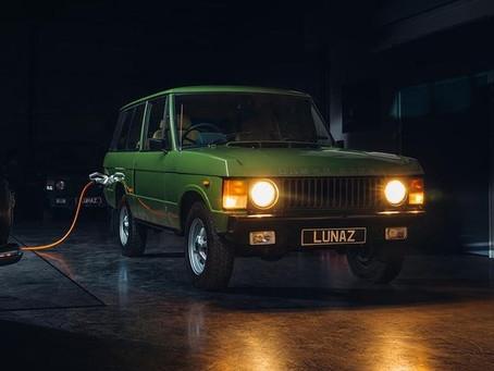 N° 73 Rétrofit : le Range Rover Classic à l'électrique