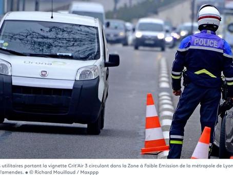 N° 149 A Lyon, l'interdiction de véhicules polluants concerne aussi les particuliers