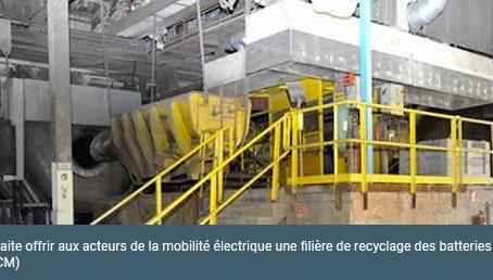 N°100 La STCM débute sa filière de collecte des batteries lithium en France