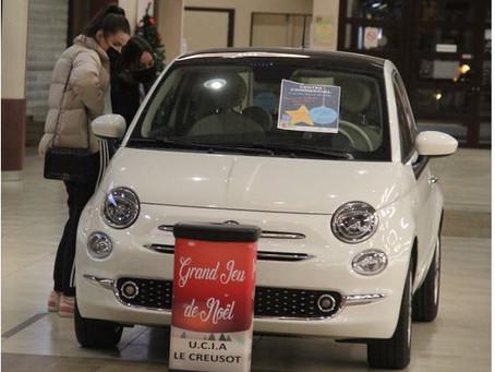 N°111 CENTRE COMMERCIAL L'ARCHE COEUR DE VILLE : De nombreux cadeaux à gagner dont une Fiat 500