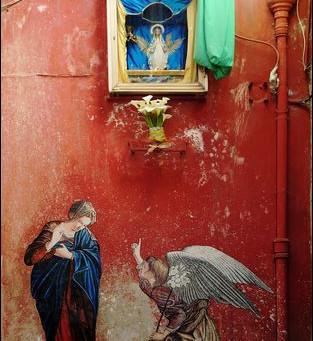 N° 98 Art street Naples -animés, histoire de l'original!