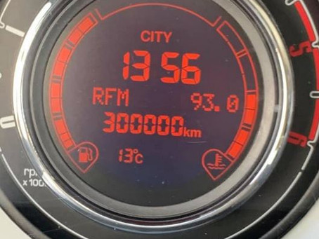 N°86 Les Diamants sont éternels, les Fiat 500 aussi parfois ! 300 000 Km au compteur.