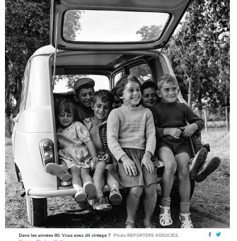 N°185-«La voiture ancienne, une image d'insouciance»