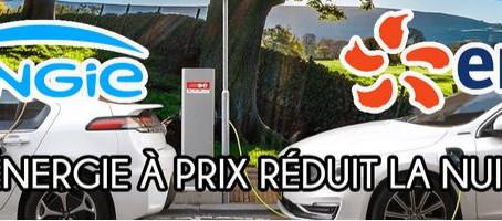 -50% sur l'électricité pour véhicules électriques avec Engie et EDF